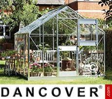 Serra da giardino Vetro Juliana Junior 8,3m², 2,77x2,98x2,57m, Alluminio