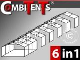 CombiTents – ontvang 6 partytenten voor de prijs van 1!