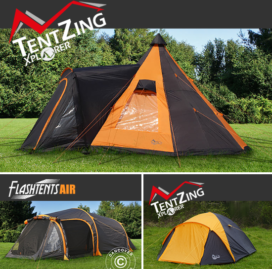 Campingtelt til en flott friluftsopplevelse