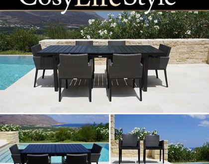 Hagebord og hagestoler til koselige og komfortable middager
