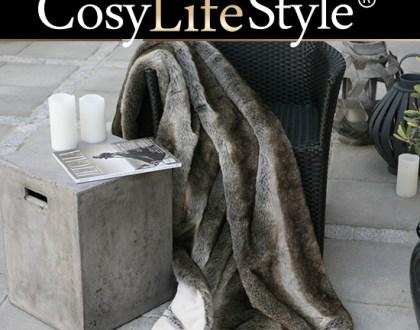 Tepper og pledd til varme og komfort