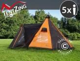 Campingtelt fra TentZing® Xplorer – flott funksjonalitet, design og komfort