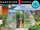 Snøsikre drivhus til områder med mye snø og kulde