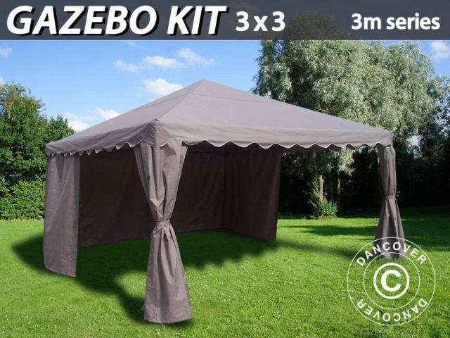 Kit de Tenda Dobrável – Transforme a sua tenda para festas numa bonita tenda dobrável