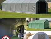 Tendas de armazenagem para soluções de armazenagem flexíveis e económicas