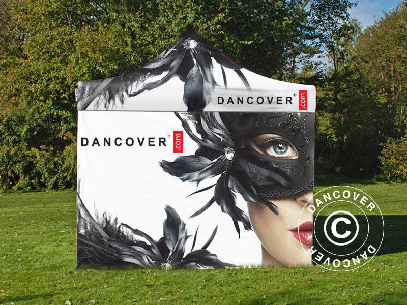 Produtos de exibição e marca da Dancover fazem uma grande diferença