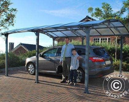 En carport från Dancover skyddar din bil varje dag