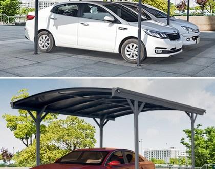 Carportar för att skydda bilen och mer
