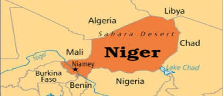 niger map large