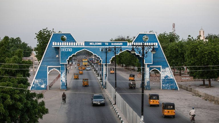 Maiduguri City Gate Nigeria 0 1