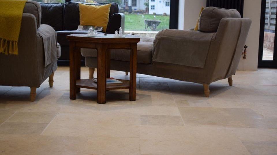 indoor stone floor
