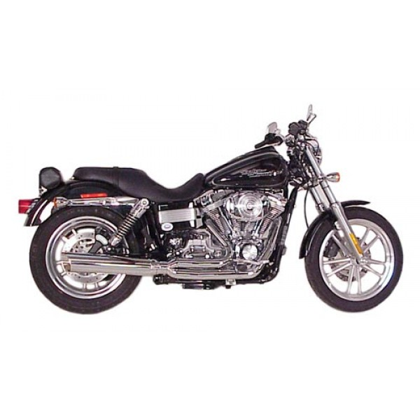 2006 2017 harley dyna fat cat 2 1 full exhaust system