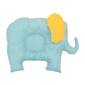 Pui de perna BABY Elefantul cu dungi teal