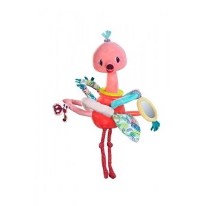 Flamingo - jucarie interactiva bebelusi