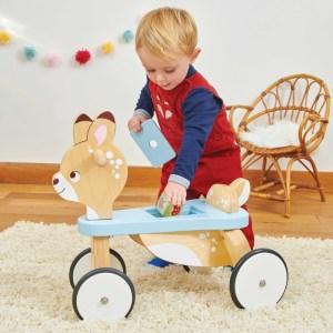 Bicicleta din lemn Ride on Deer – Le Toy Van