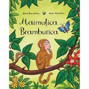 Carte copii Maimutica Bramburica