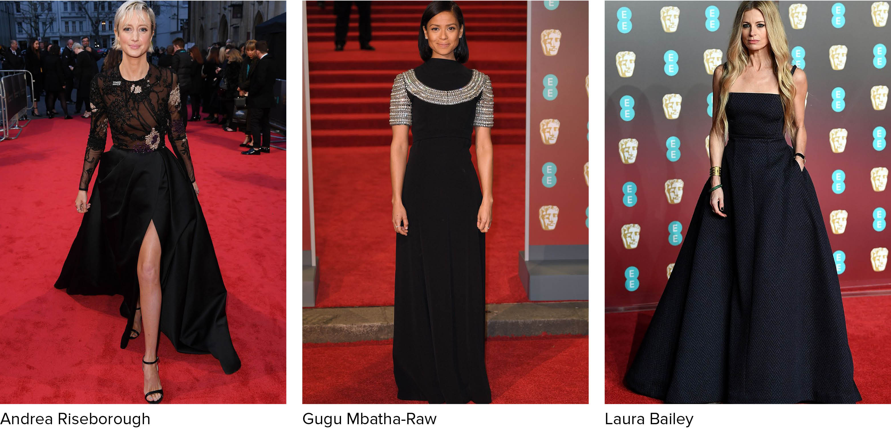 More Women Opted For Pants Or Jumpsuits On The BAFTA Runway, A Trend We Love  And Plan To Try At Our Next Black Tie Event. Ruth Wilson Rocked Valentino  Rock ...