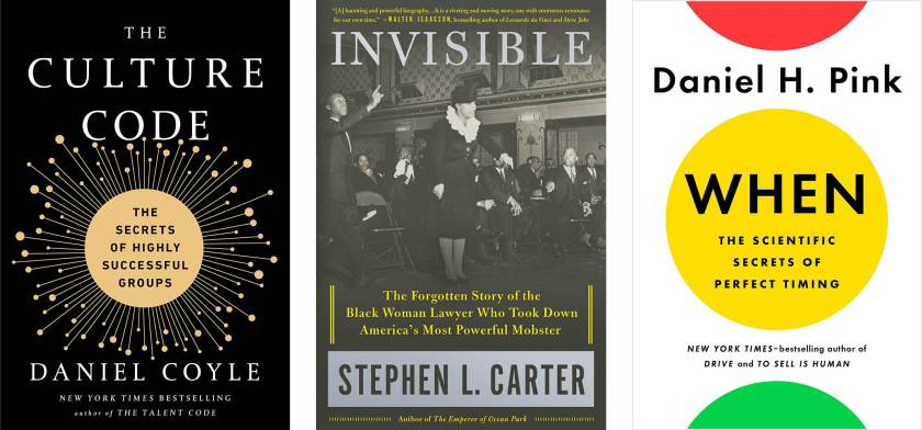 Recommended Reads The Best Business Books Of 2018 Dandelion