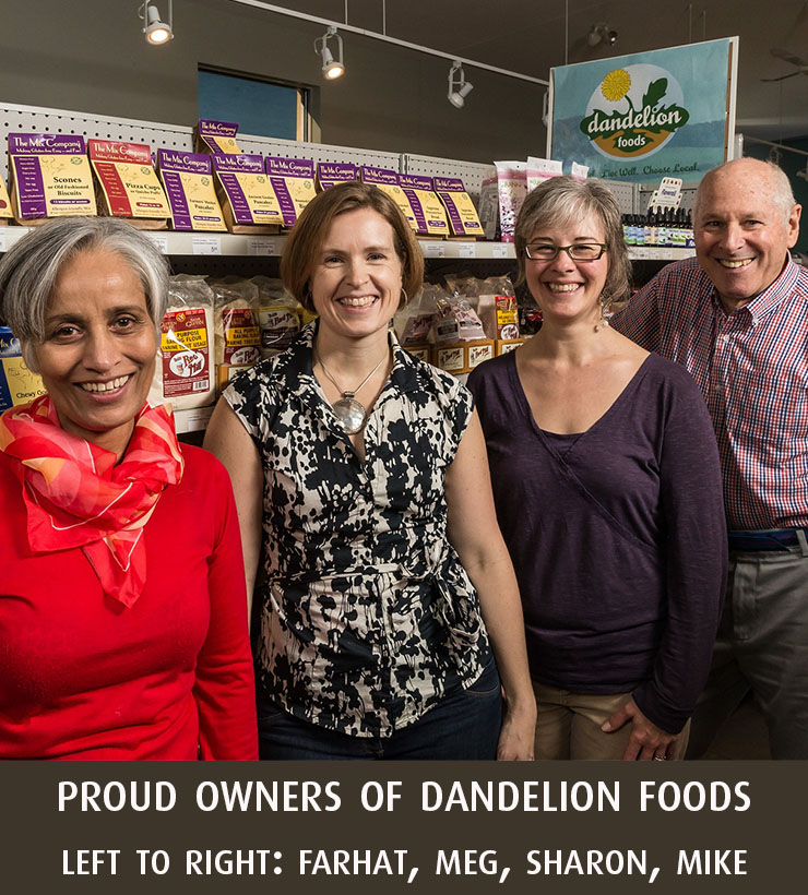 Co-owners, Dandelion Foods