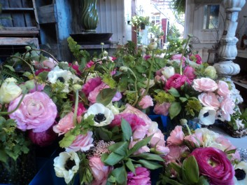 Anemones and Ranunculus