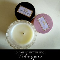 Home Scent Week ep. 1: Voluspa Candles