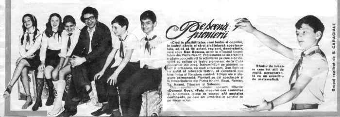 Decupaj Revista Cutezatorii - iulie 1975