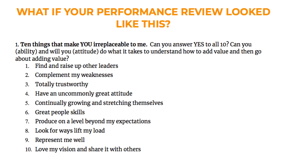 sample employee comments on performance review