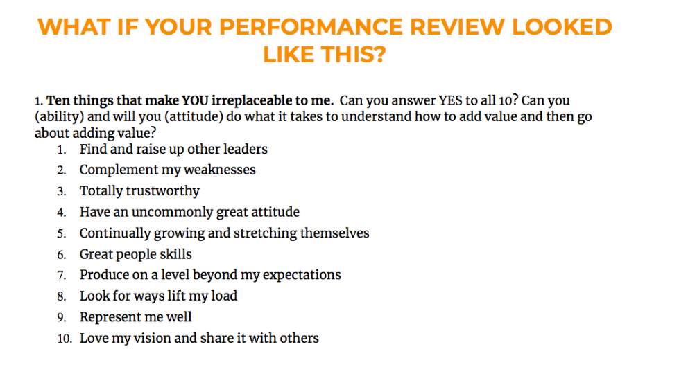 Writing Performance Reviews: Start here before your next review