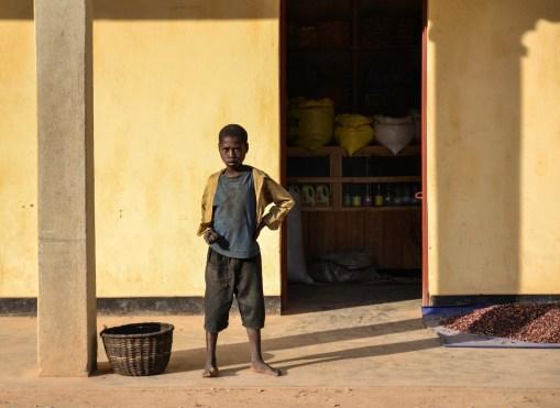 Rwandan boy.