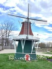 A windmill Kirsten's size!