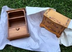 Spice cabinet & jewelry box.