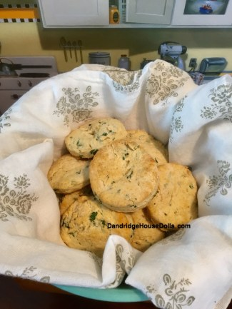 Molly's Parsley Biscuits