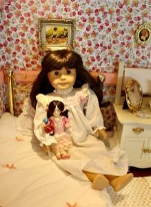 American Girl Samantha Doll Victorian Dollhouse Room