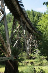 SR 58 Overhead Railway Trestle