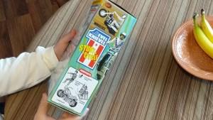 Evel Knievel Stunt Cycle Box Side