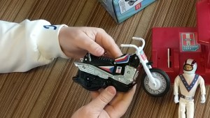 Evel Knievel Toy Motorcycle