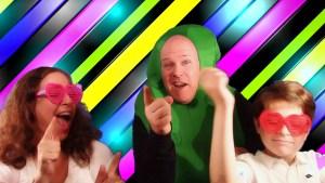 Koolickle Man sings with Koolickle Kids