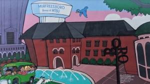 Murfreesboro's Vine Street Marketplace Mural section 3