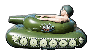 pool punisher floating combat tank