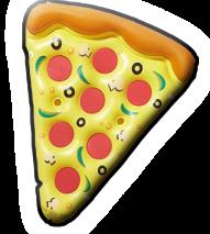 inflatable pizza slice