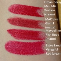 Urban Decay Vice Lipstick Mrs. Mia Wallace