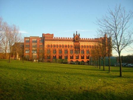 Templeton Carpet Factory, Glasgow Green by James Morrison