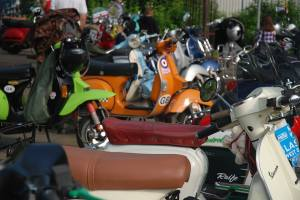 scooters at Balloch 1