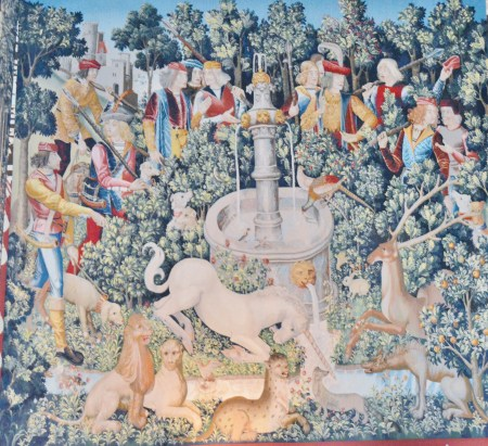 Tapestries at Stirling Castle.