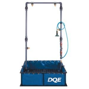 DQE Quick Response Decon Shower System