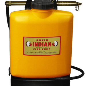 INDIAN™ FER500 5-GALLON POLY TANK WITH INDIAN™ FIRE PUMP