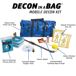 Decon in a Bag®