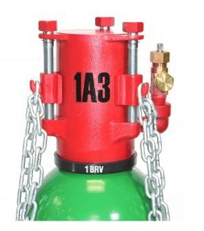 """Kit """"A"""" includes devices and tools to contain leaks in and around the cylinder valve and in the side wall of chlorine cylinders, US DOT #3A480 & 3AA480. Note: The Chlorine Institute Emergency Kit """"A"""" is the only chlorine emergency kit for chlorine cylinders that is manufactured to the design specifications of the Chlorine Institute."""