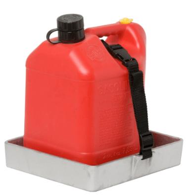 RECTANGULAR HOLDER FOR 2.5-GALLON PLASTIC CAN