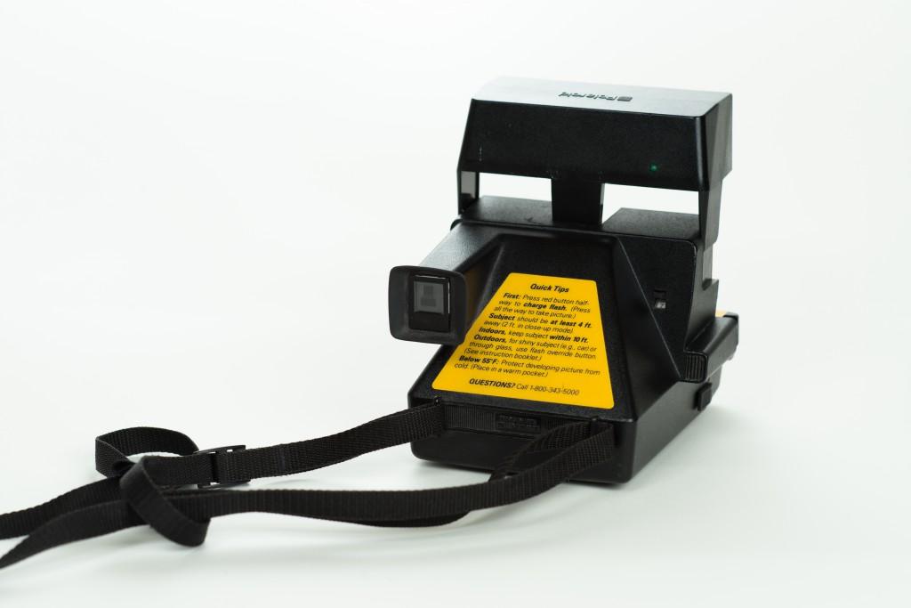 Polaroid Job Pro back